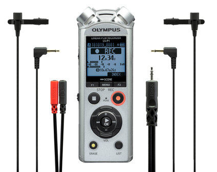 Olympus LS-P1 Interviewer Kit