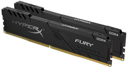HyperX 32GB 3200MHz DDR4 CL16 DIMM (Kit of 2) 1Rx8 HyperX FURY Black