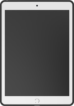 OtterBox React Apple iPad (2020)/(2019) Back Cover Transparent