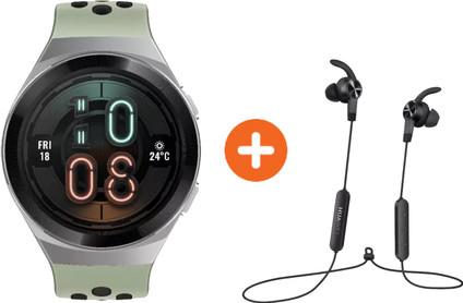 Huawei Watch GT 2E Active Groen met oordopjes