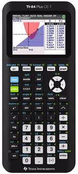 Texas Instruments TI-84 CE-T + Python app