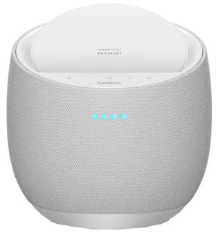 Belkin Soundform Elite Hifi Enceinte Connectée avec Alexa et AirPlay 2 Blanc