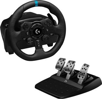 Logitech G923 TRUEFORCE - Volant de Course avec Retour de Force pour PlayStation 5, PlaySt