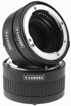 Caruba Extension Tube set Nikon Chrome (type II)