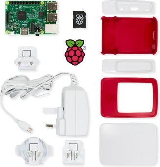 Raspberry Pi 3 Modèle B Essentials Kit