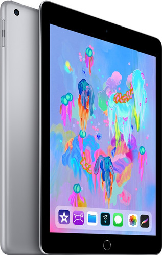 Apple iPad (2018) 32 Go Wi-Fi + 4G Gris sidéral Main Image