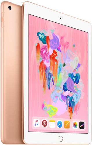 Apple iPad (2018) 128GB Wifi + 4G Gold Main Image
