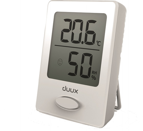 Duux Sense Hygrometer and Thermometer White Main Image