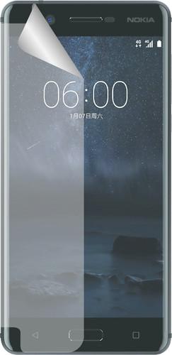 Azuri Nokia 6 Protège-écran Plastique Lot de 2 Main Image