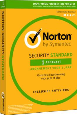 Norton Security Standard 2019 | 1 Jaar | 1 Apparaat Main Image