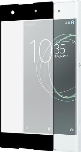Azuri Protège-écran Verre trempé Incurvé Sony Xperia XA1 Noir Main Image