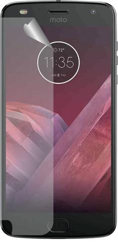 Azuri Motorola Moto Z2 Play Protège-écran Plastique Lot de 2 Main Image