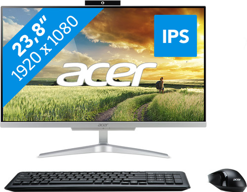 Acer Aspire C24-865 I8628 BE All-In-One Azerty Main Image