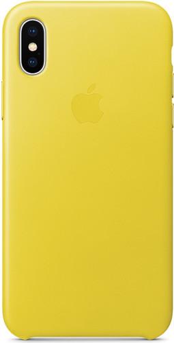 coque apple iphone x cuir officiel