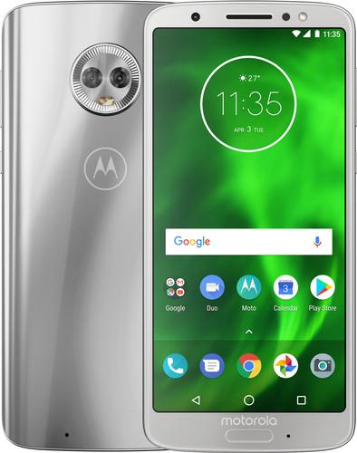 Motorola Moto G6 Zilver Main Image
