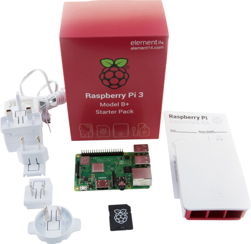 Raspberry Pi 3 Modèle B+ Kit de démarrage Main Image