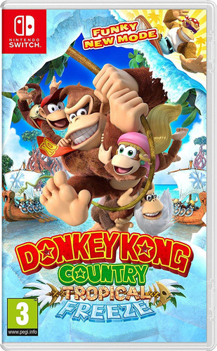 Donkey Kong Country Tropical Freeze Switch Main Image