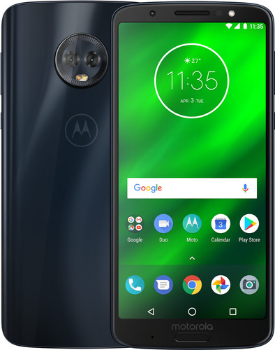 huge discount fe56b ab9fe Motorola Moto G6 Plus Blue