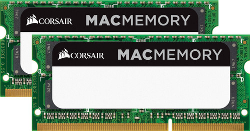 Corsair Apple Mac 16GB DDR3L SODIMM 1600 MHz (2x8GB) Main Image
