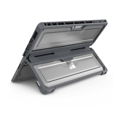 OtterBox Symmetry Duo Surface Pro (2017)/ Surface Pro 4 Back Cover Grijs Main Image