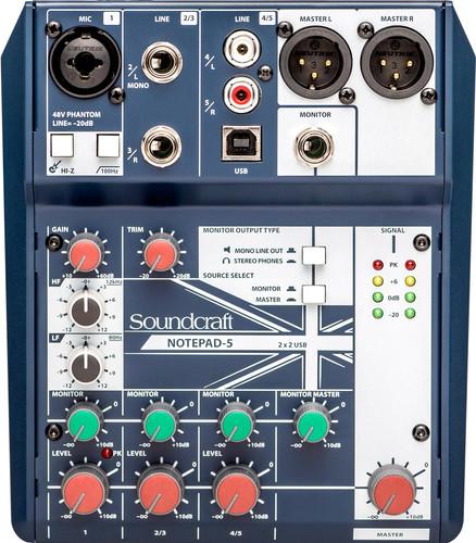 Soundcraft Notepad 5 Main Image