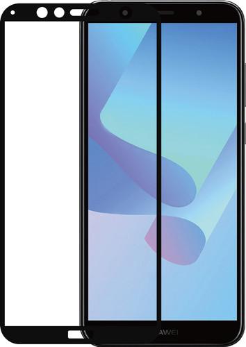 Azuri Verre Trempé Huawei Y6 (2018) Protège-écran Verre Noir Main Image