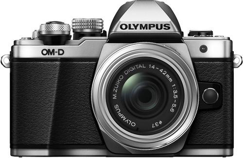 Olympus OM-D E-M10 Mark II Argent + 14-42 mm IIR Main Image