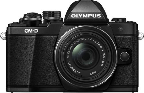 Olympus OM-D E-M10 Mark II Zwart + 14-42mm IIR Main Image