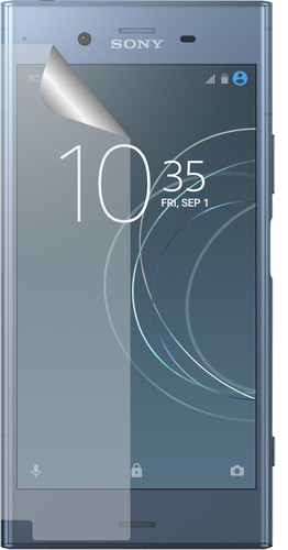 Azuri Sony Xperia XZ1 Protège-écran Plastique Lot de 2 Main Image