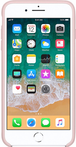 coque apple iphone 8 plus rose des sables