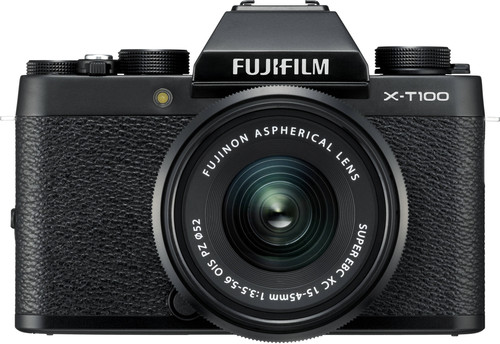 Fujifilm X-T100 Zwart + XC 15-45mm OIS PZ Main Image