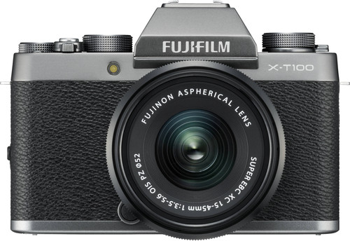 Fujifilm X-T100 Zilver + XC 15-45mm OIS PZ Main Image