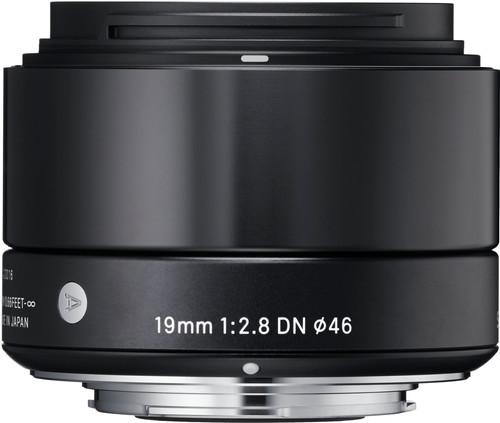Sigma 19mm f/2.8 DN ART Micro FT Black Main Image