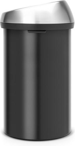 Brabantia Touch Bin 50l Aanbieding.Brabantia Touch Bin 60 Liter Zwart Fingerprintproof Deksel