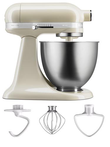 Kitchenaid Artisan Mini Mixer 5ksm3311xeac Almond White