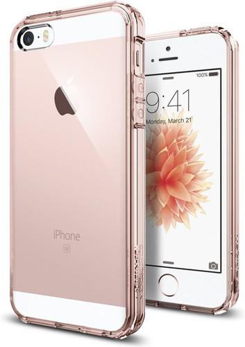 Spigen Ultra Hybrid Apple iPhone 5/5s/SE Roze Main Image