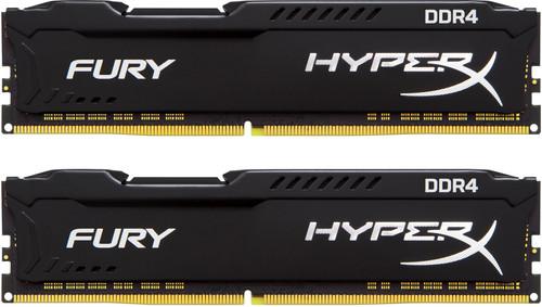 Kingston Hyper X FURY Black 16GB 2666MHz DDR4 DIMM 2 x 8 GB Main Image