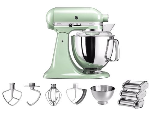 KitchenAid Artisan Mixer 5KSM175PS Pistache + Pastarollerset Main Image