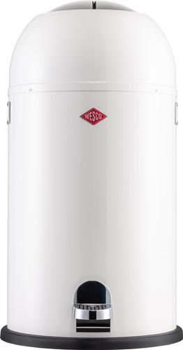 Wesco Kickmaster 33 Liter Zilver.Wesco Kickmaster 33 Liter