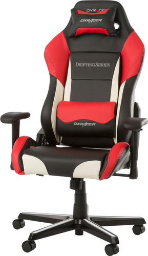 DXRacer DRIFTING Gaming Chair Black/White/Red Main Image