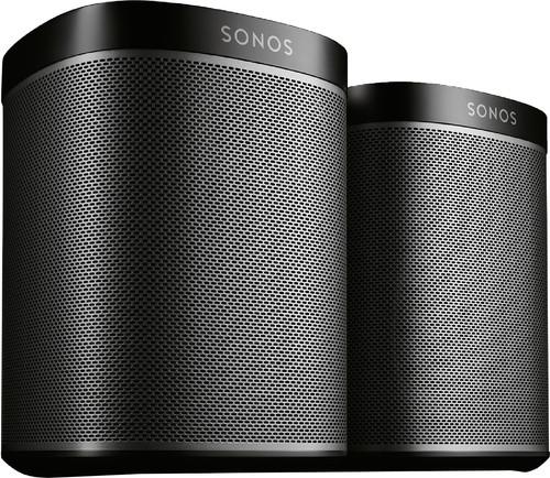 Sonos Play:1 Noir Lot de 2 Main Image