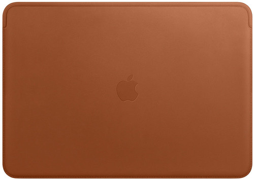 online store 39819 4d9dc Apple MacBook Pro 15 Inches Leather Sleeve Saddle Brown