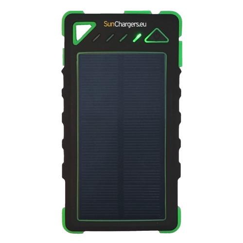 SunChargers Smart Solar Powerbank 8.000 mAh Groen Main Image