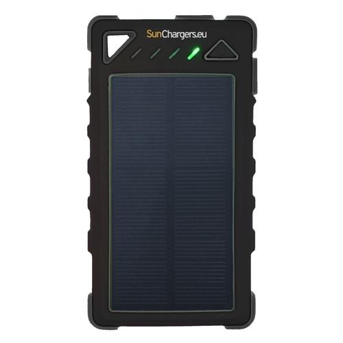 SunChargers Smart Solar Powerbank 8.000 mAh Zwart Main Image