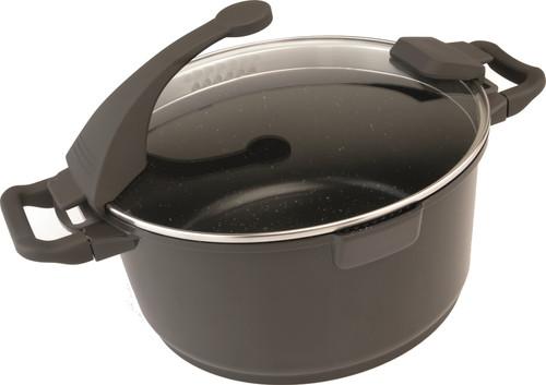 Berghoff Virgo saucepan with lid 28 cm dark brown Main Image