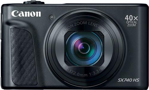 Canon PowerShot SX740 HS Noir Main Image