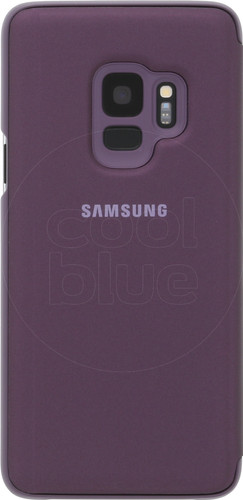 huge discount a78da 78553 Samsung Galaxy S9 Clear Stand View Cover Purple