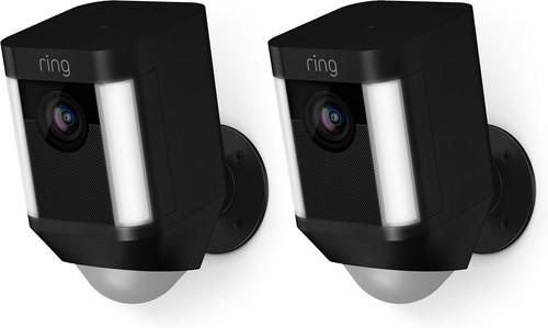 Ring Spotlight Cam Pile Noir Lot de 2 Main Image