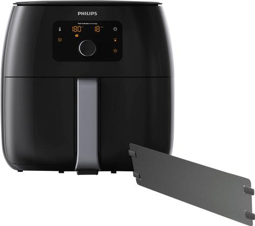 Philips Avance Airfryer XXL HD9652/90 Noir + Séparateur de poêle Main Image