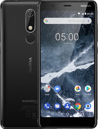 Nokia 5.1 Zwart Main Image